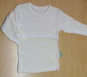 Bio bavlna tričko dlouhý rukáv