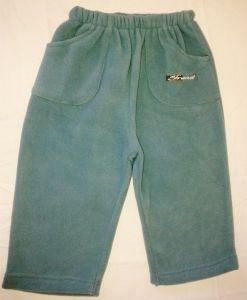 Flísové kalhoty tepláky