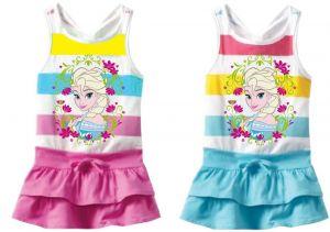 Zobrazit detail - Licenční šaty FROZEN - 104 - 134