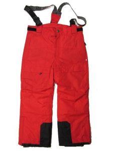 Lyžařské kalhoty YDI 116-122 - červená barva
