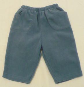 Flísové kalhoty tepláky tepláčky 74-80