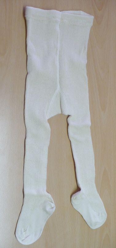 Bavlněné punčochové kalhoty - barva přírodní bio bavlna Lotties