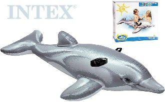 Delfín nafukovací 175 x 66 cm INTEX