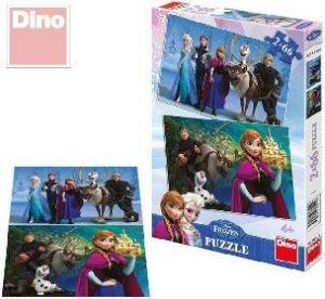 Puzzle 2x66 dílků Ledové království (Frozen)