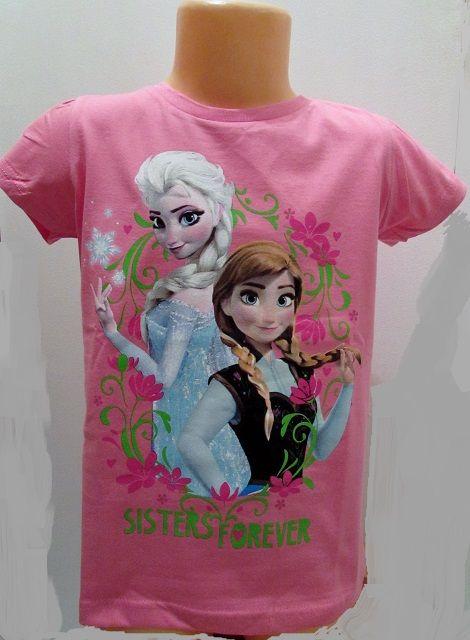 Frozen tričko triko krátký rukáv disney