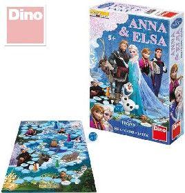Hra Ledové království (Frozen) společenská hra dino