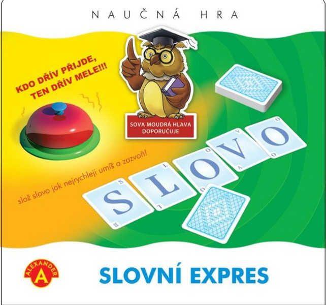 Hra naučná Slovní expres *SPOLEČENSKÉ HRY* 8+ Alexander