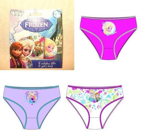 kalhotky dívčí Frozen Ledové království disney