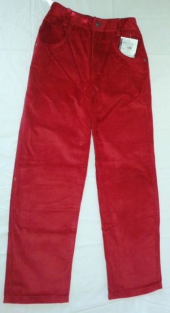 Kalhoty manžestráky manžestrové manšestrové Parrot
