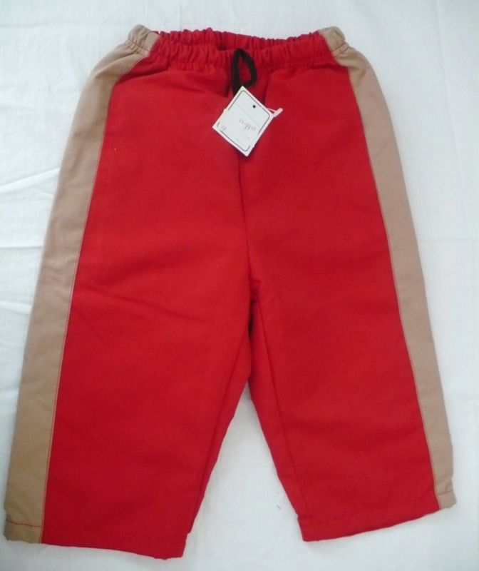 Kalhoty s bavlněnou podšívkou - VÝPRODEJ - 74 queen