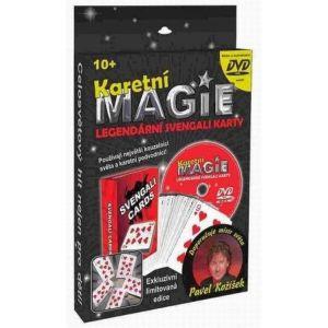 Karetní magie - Legendární Svengali karty + DVD