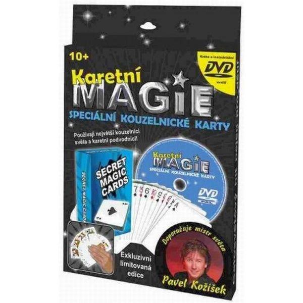 Karetní magie - Speciální kouzelnické karty + DVD