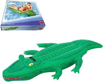 Krokodýl 168 x 79 cm s úchytem nafukovací Bestway