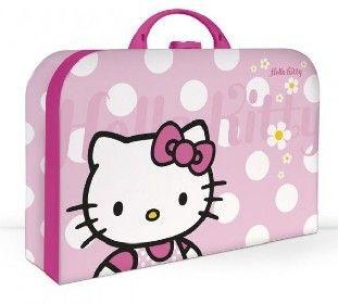 Kufr (kufřík) Hello Kitty velký Kazeto