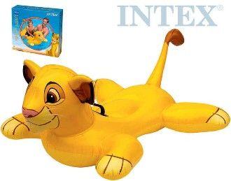 Lehátko 119cm nafukovací s úchyty do vody LION KING (Lví Král) INTEX