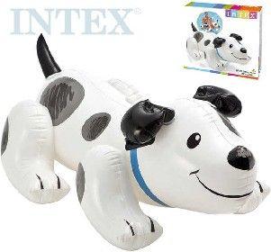 Lehátko Pejsek nafukovací s úchyty pes do vody INTEX