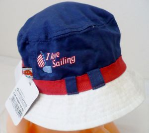 Letní plátěný klobouk 50