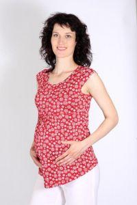Letní těhotenská halenka krátký rukáv 44 Rialto
