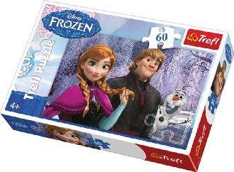 PUZZLE 60 dílků Ledové království (Frozen) Disney Trefl