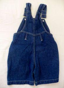 Riflové kalhoty kraťasy lacláče 86