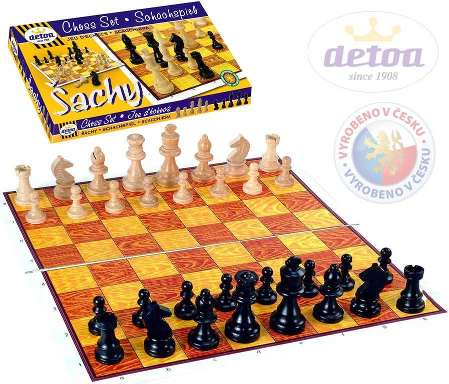 Šachy STEUTON *SPOLEČENSKÉ HRY* Detoa