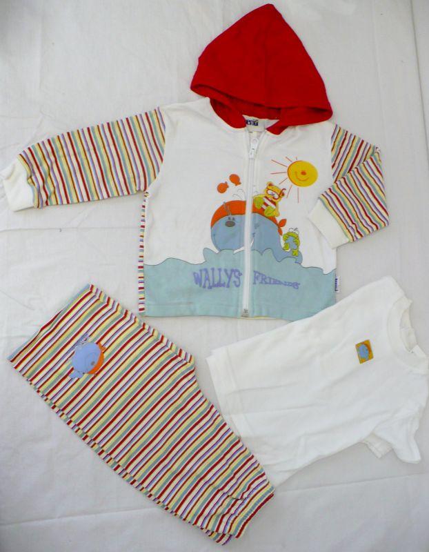 Souprava mikina, tričko, kalhoty - 3 kusy vel. 74 - VÝPRODEJ Trend Tulec
