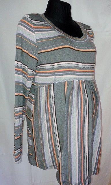 těhotenská halenka tričko dlouhý rukáv Rialto