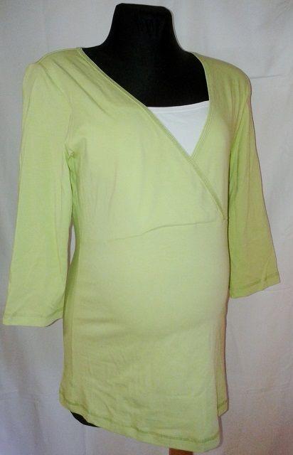 těhotenská kojící halenka tričko vel. 42 Rialto
