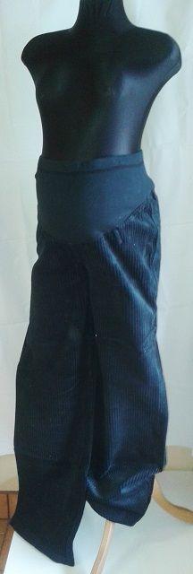 těhotenské kalhoty manžestrové manšestrové manžestráky Rialto