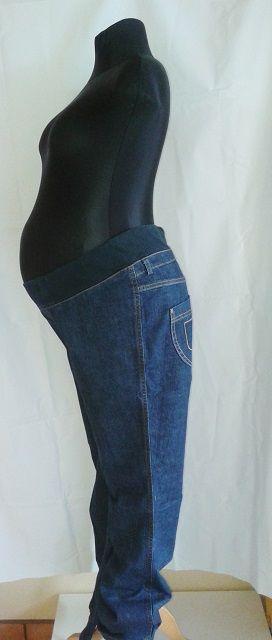 těhotenské kalhoty rifle džíny v.44, 46 Rialto