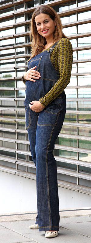 Těhotenské laclové kalhoty rifle Wasigny 46 Rialto