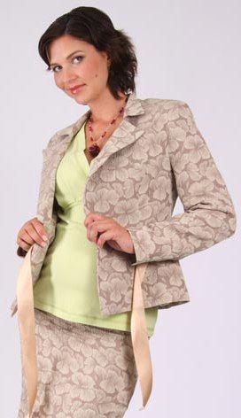 Těhotenské sako kabátek 42 Halle Rialto