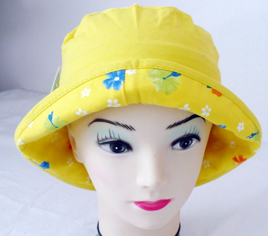 Veselý plátěný klobouk Happy Kids