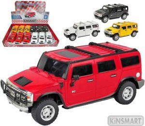Auto model 1:40 HUMMER H2 SUV kov PB 12cm