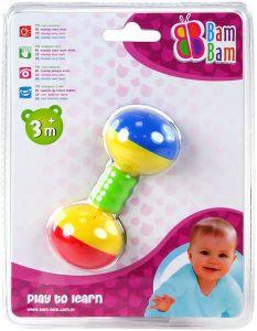 Baby chrastítko kousátko plastové koule