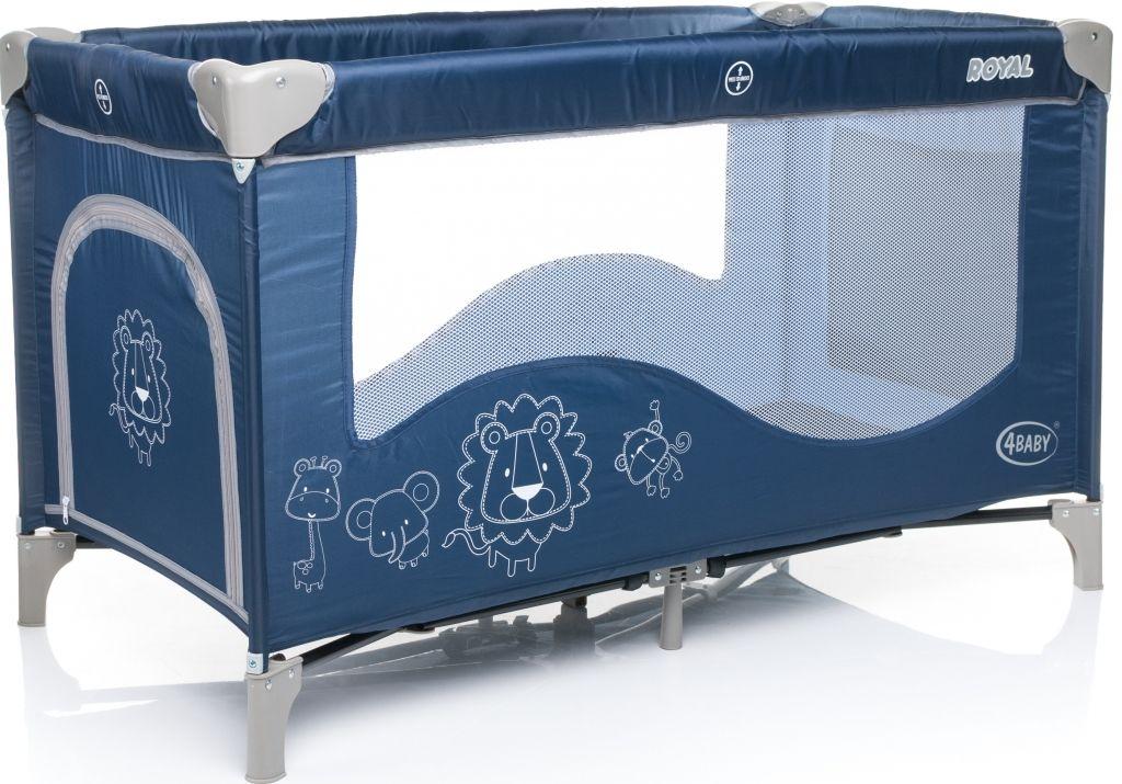 Cestovní postýlka 4Baby Royal 2015 - blue