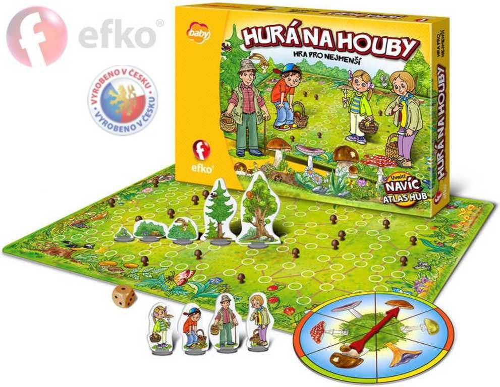 Hra Hurá na houby - 5+ Efko