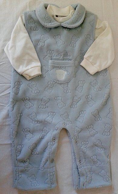 Kalhoty lacláče dupačky flísové a triko - setík 68 - VÝPRODEJ Trend Tulec
