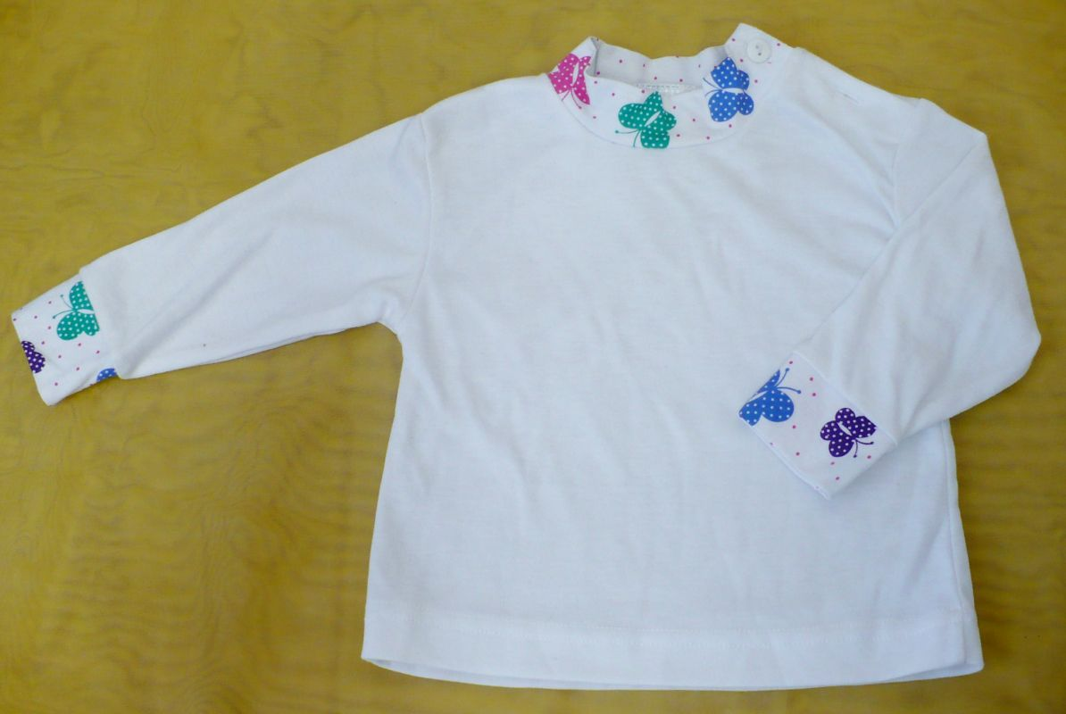Kojenecké podvlíkací tričko s dlouhým rukávem 80 - VÝPRODEJ