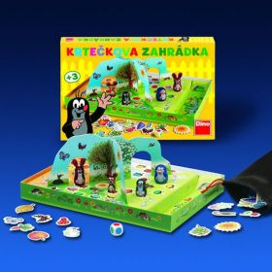 Krtečkova zahrádka stolní hra - 3+ Dino