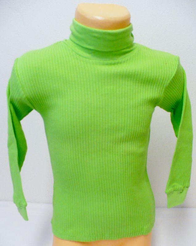 Podvlíkací žebrové triko s dlouhým rukávem rolák 110 - VÝPRODEJ Sotex