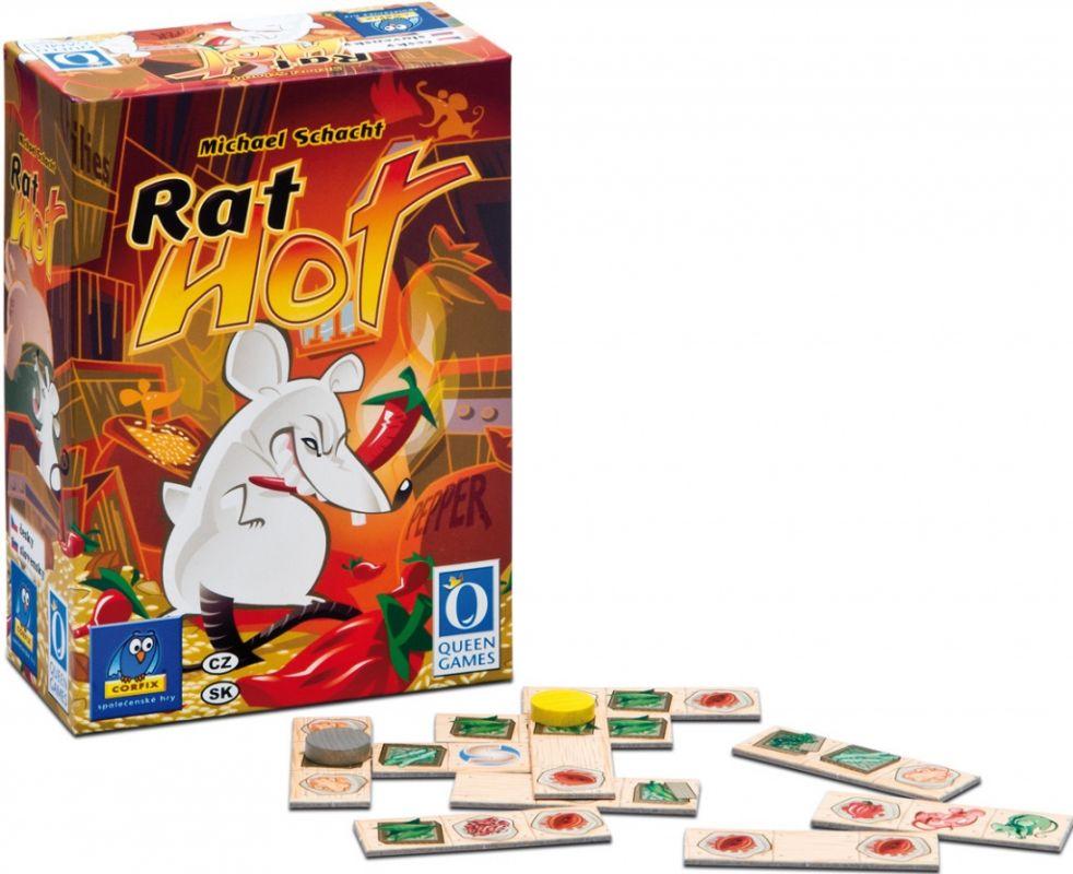 Rat Hot - obchodníci- taktická hra pro 2 osoby/ 8+ Corfix