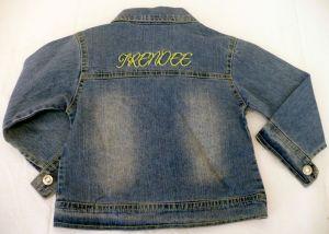 Riflová bunda - džiska dívčí 92 Trend Tulec