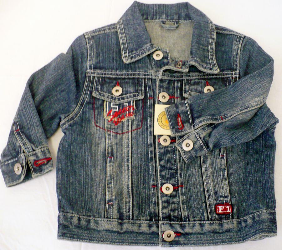 Riflová bunda - džiska chlapecká -VÝPRODEJ HW-fashion