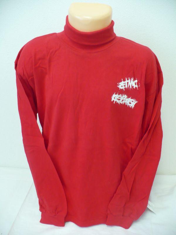 Rolák červené tričko s dlouhým rukávem vel.140 BETTY MODE