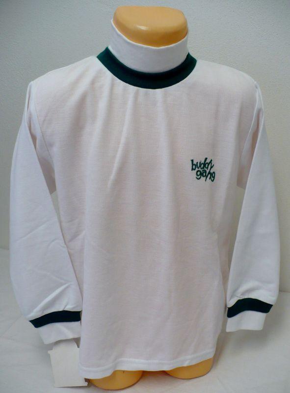 Rolák stojáček bílé tričko s dlouhým rukávem 116 - VÝPRODEJ Montaly