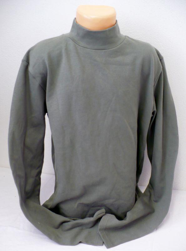 Rolák stojáček khaki tričko s dlouhým rukávem XL// 164 - VÝPRODEJ Ardevo