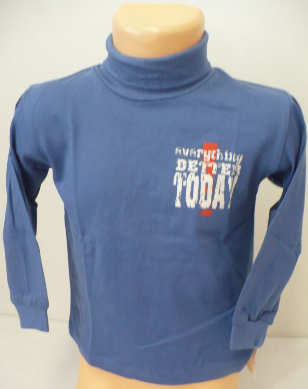 Rolák tričko s dlouhým rukávem vel.92-98 - VÝPRODEJ BETTY MODE