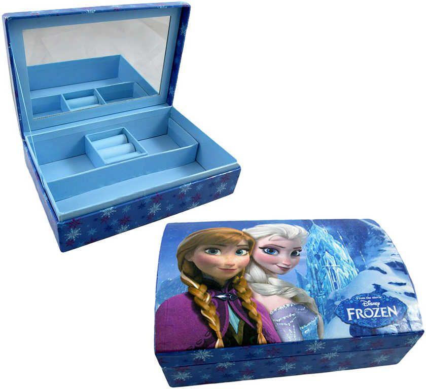Šperkovnice s přihrádkami 19 x 13cm Disney FROZEN (Ledové Království)