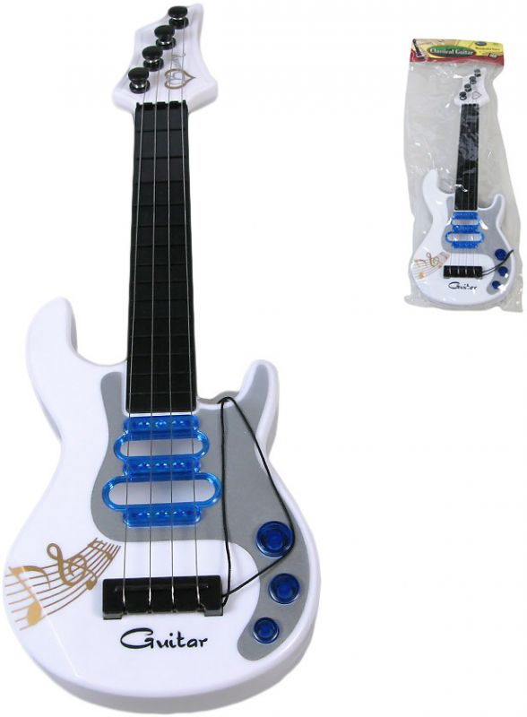 Stylová dětská rocková Kytara v sáčku